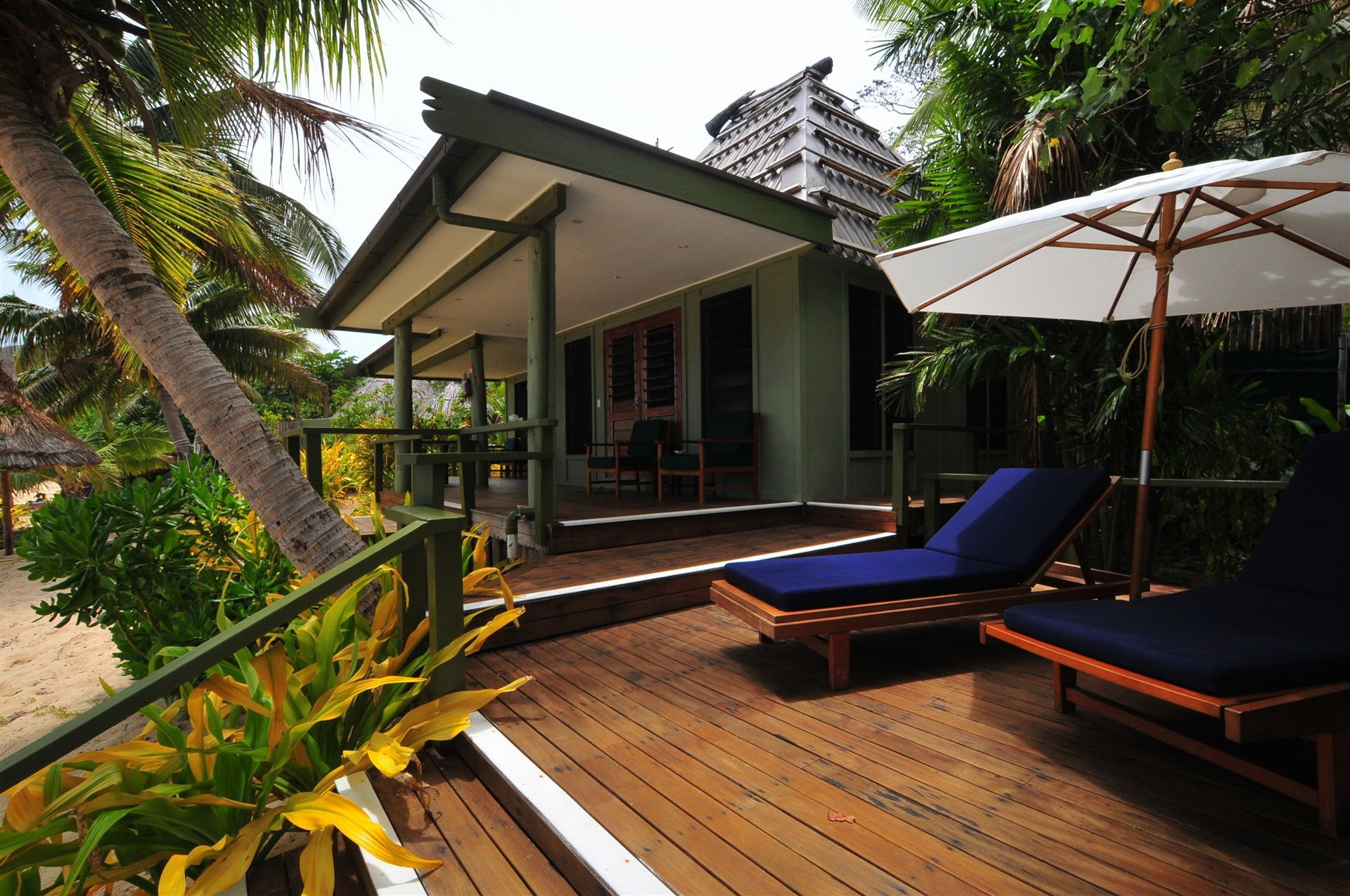 Two Bedroom Beachfront Villa