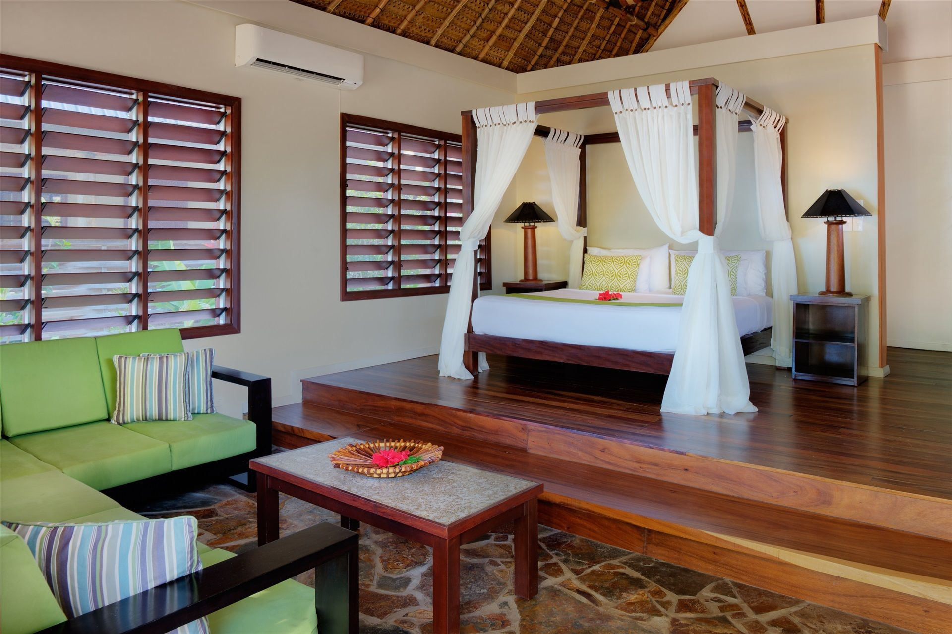 Two Bedroom Beachfront Villas